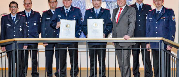 Brüning und Kohl führen weitere sechs Jahre Brockdorfer Feuerwehr