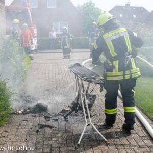 Zimmerbrand: Bügeleisen fängt Feuer