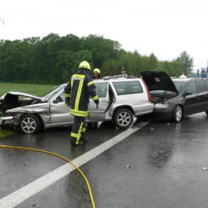 Zwei Unfälle auf der Autobahn 1 in kurzer Zeit