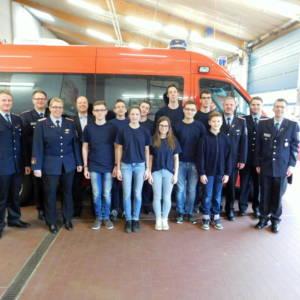 Jahreshauptversammlung der Jugendfeuerwehr Lohne