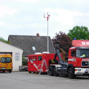 Einsatzleitgruppe nimmt an Großübung Seefalke in Delmenhorst teil