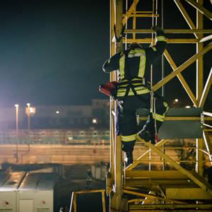 Lohner Feuerwehrleute sind gerüstet für Einsätze in großen Höhen