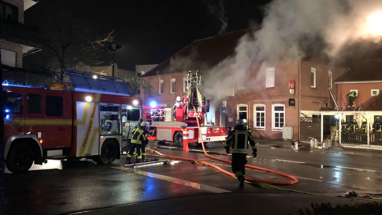 """Brand der Gastwirtschaft """"Zur Linde"""""""