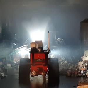 Großbrand von Lagerhalle