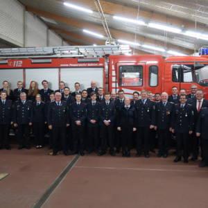 Feuerwehr Lohne war 2019 mehr als 13.000 Stunden im Dienst