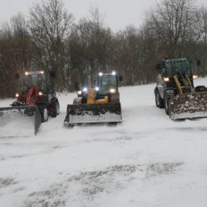 Bereitschaft wegen starkem Schneefall