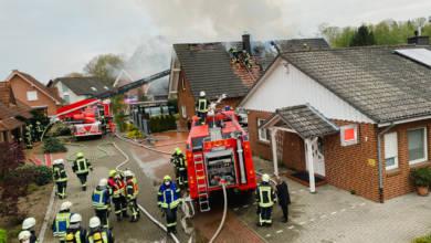 Wohnhausbrand in Dinklage